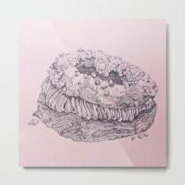 Paris Brest -- Painstaking Pastry Metal Print