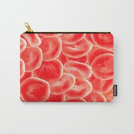 RED BLOOD CELLS MICROSCOPIC VIEW IMAGE MEDICAL LABORATORY SCIENTIST Carry-All Pouch