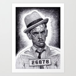 Don't Double Cross 'The Wise Guy'!!! Art Print