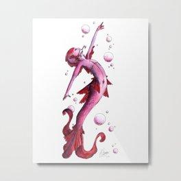 Mermaid 2 Metal Print