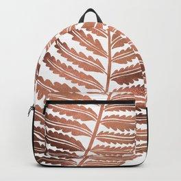 Fern Leaf – Rose Gold Palette Backpack