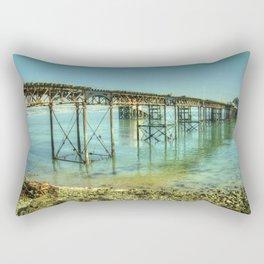 Mumbles Pier Rectangular Pillow