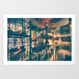 The Toy Store Art Print