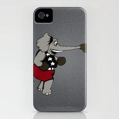 Patriotic Pugilist  iPhone (4, 4s) Slim Case
