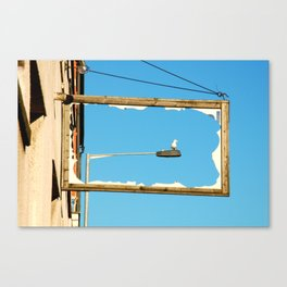 Bird Framed Canvas Print