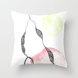 Scandi Micron Art Design | 170412 Telomere Healing 2 Throw Pillow