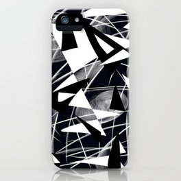 Muted Chaos iPhone Case