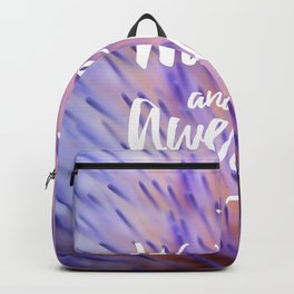 Wake up and be awesome Backpack