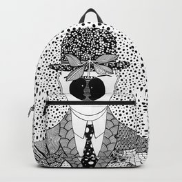 Magritte - The son of man Backpack