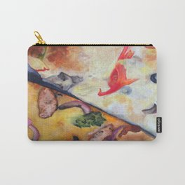 Pizza Lovemaking (LARGER SIZES) Carry-All Pouch