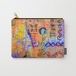 Butterfly's dream of light and transformation Carry-All Pouch