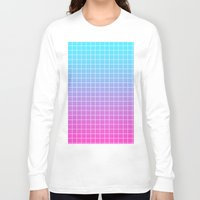 gradient Long Sleeve T-shirts featuring Gradient by aesthetically
