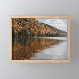 Jordan Pond Framed Mini Art Print