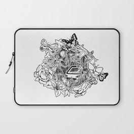 Cars in the Wild (3D papercut) Laptop Sleeve