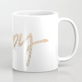 GOLD HAPPY Coffee Mug
