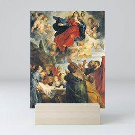 The Assumption of the Virgin Mary - Peter Paul Rubens Mini Art Print