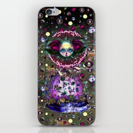 Black Forest Bride iPhone Skin