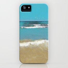 Palm Beach Waves iPhone Case
