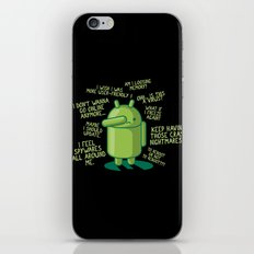 PARANOID ANDROID iPhone & iPod Skin