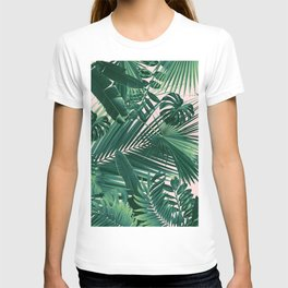 Jungle Leaves Siesta #1 #tropical #decor #art #society6 T-shirt
