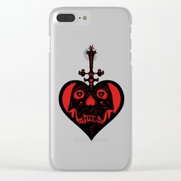 The Ace of Skull Clear iPhone Case