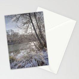 Sunrise across the Pond Stationery Cards