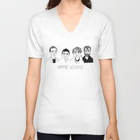 vampire weekend V-neck T-shirts featuring Vampire Weekend by ☿ cactei ☿