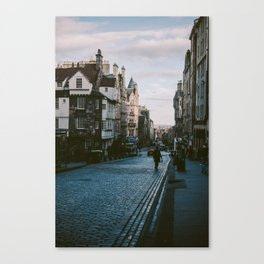 The Royal Mile in Edinburgh, Scotland Canvas Print