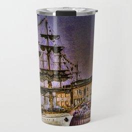 """Tall Ship """"Mircea"""" Travel Mug"""