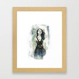 F Cobain Framed Art Print