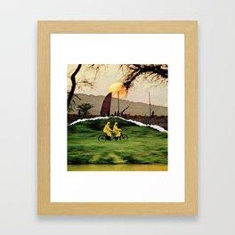 Life Ride Framed Art Print