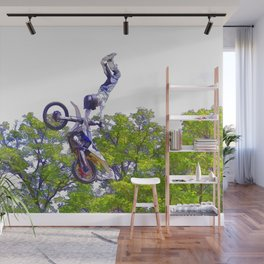 Hand Stand Pro - Freestyle Motocross Stunt Wall Mural