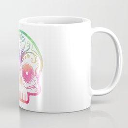 "Custom Design Modern Sugar Skull (""Calavera"") Coffee Mug"