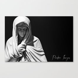 Mother Trinity Canvas Print