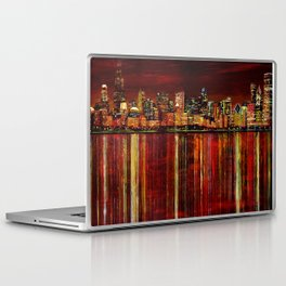 Chicago Night Skyline Laptop & iPad Skin
