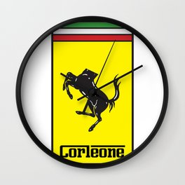 Corleone Wall Clock