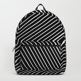 Aesthetic Black Prism Backpack