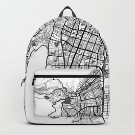 City map // Cali Colombia Backpack