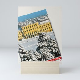 Advertisement Vienna Schonbrunn Palace Under Snow Mini Art Print