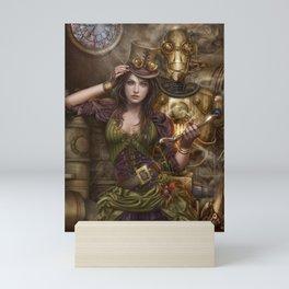 Ex machina Mini Art Print