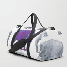 Elephants II Duffle Bag