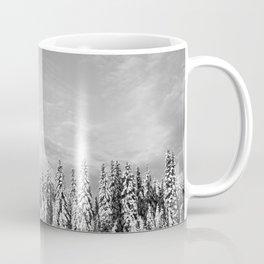 Spruce After Snow Storm Coffee Mug