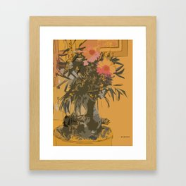 Florero Framed Art Print
