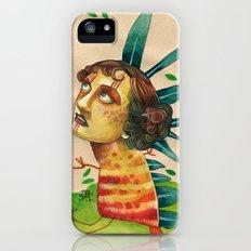FALLING LEAVES Slim Case iPhone (5, 5s)