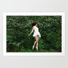 Greenscape Art Print