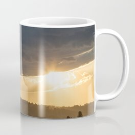Yellowstone National Park - Sunset, Blacktail Deer Plateau Coffee Mug