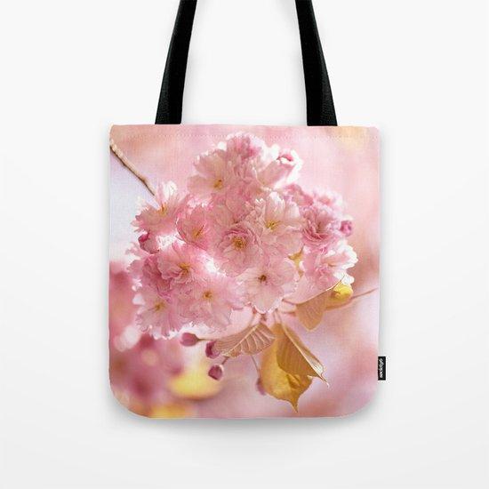 Sakura - Cherryblossom - Cherry blossom - Pink flowers on #Society6 Tote Bag