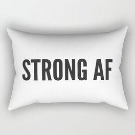 Strong AF Rectangular Pillow