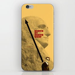 Hitchcock: North by Northwest iPhone Skin