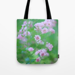 Tiny Pink Expressions Tote Bag